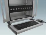 压铸铝合金悬臂箱键盘架